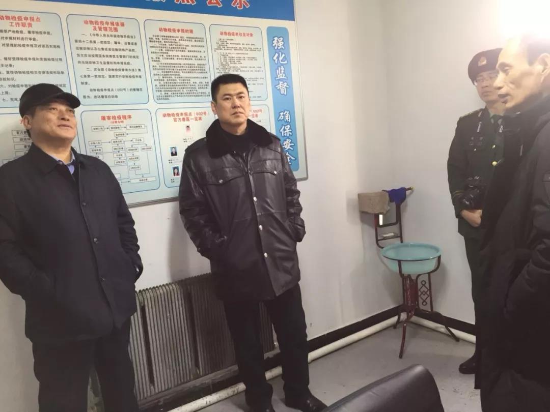 【图】于浩 袁翔龙开展春节前安全生产大检查